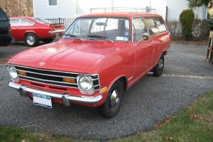 1969 Opel Kadett 2DR Wagon 24,000 orig miles ,excellent floors and frame