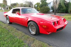 1979 Pontiac Trans Am 4 Speed WS6 W72 Matching Numbers