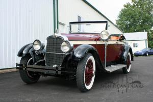 1926 Stutz AA Roadster - Frame Off Restoration! None Finer! Photo
