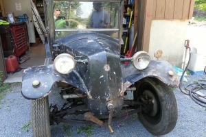 1928 Tatra 12 - 4 Passenger Auto Prague Factory Rare!