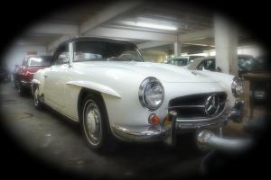 1962 Mercedes 190SL LHD