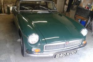 MG B ROADSTER BRG 1962