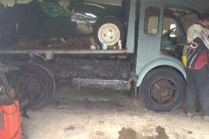 renault galion tipper truck
