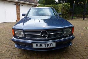 1987 MERCEDES 560 SEC AUTO BLUE