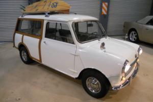 1961 MINI AUSTIN COUNTRYMAN, RARE LEFTHAND DRIVE, AMAZING GROUND UP RESTORATION