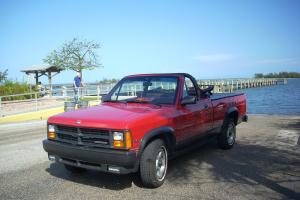 1989 Dodge Dakota Sport Convertible RED, Auto, 2 wd, LIKE NEW 17,300 miles