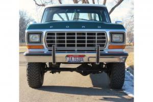1978 Ford F250 4x4 Extended Cab  TOYOs  Custom Wheels Ranger Tilt Rot Free !!!!