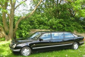 1996 MERCEDES E300DIESEL 6-dr LIMOUSINE LIMO Funeral (Not hearse) people carrier