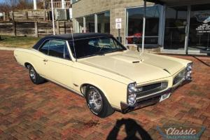 1966 Pontiac GTO Tri- Power A/C AT Hardtop. 	VIN 242176K132148.