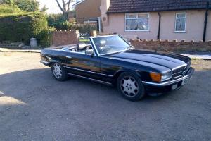 Mercedes Benz 280 SL 1982 Black Automatic Petrol