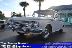 Rambler Classic ALL ORIGINAL straight 6 cyl 3 speed manual CLEAN classic sedan