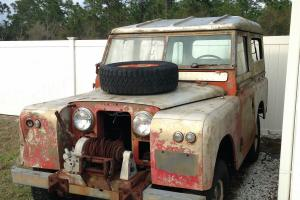 1967 Land Rover Series II - Barn Find - New Information Added!