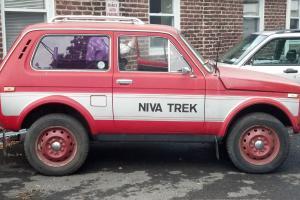 1981 Lada Niva 1600 Trek Russian 4X4 SUV for parts or restoration Photo