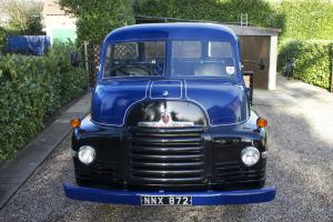 "Restored 1953 Bedford ""S"" type open back truck"