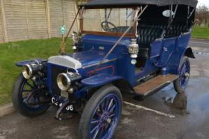 1908 Daimler poppet valve 30hp Rois des Belges Tourer.