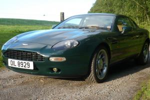 Aston Martin DB7 British Racing Green