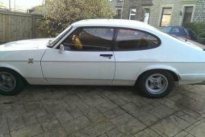 FORD CAPRI 1.6 LASER 1986 DIAMOND WHITE**(REVISED PRICE)***