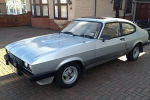 FORD CAPRI 2.0S, Silver, 5 Speed, Very nice original car