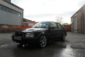 1988 FORD ESCORT RS TURBO BLACK