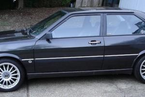 1986 Audi Coupe GT Rare Blk/Blk Build sheet ur quattro euro 4000
