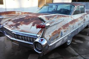 1959 Cadillac Coupe DeVille 2drht. AZ car. Great body. Very very good project.
