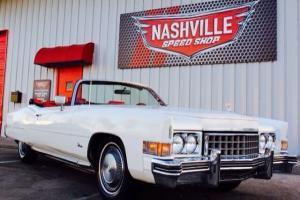 1973 Cadillac Eldorado Convertible..1 of 500! Indy Pace Car!  87k Miles..No Rust