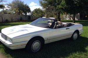 1989 Cadillac Allante Base Convertible 2-Door 4.5L