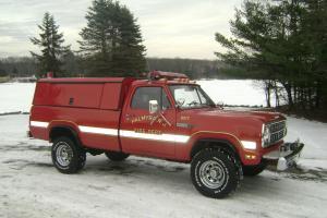1979 Dodge Power Wagon 200 Pickup Truck with 9,230 original miles!! Garage Kept!