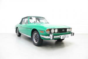 A Muscular and Pristine Triumph Stag Automatic with Just 79,820 Miles from New
