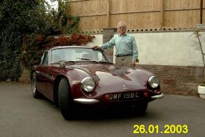TVR 1800S V8 (Grantura) 1965. The Old Dame