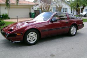 1985 Nissan 300ZX Turbo - 9490 orig. mi. - Burg / Burg - 1 Owner - Mint Cond.