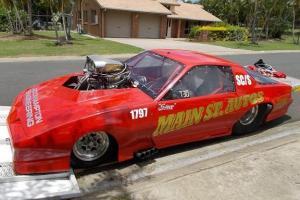 Chev Camaro Drag CAR Full Chrome Molly Roller in Frenchville, QLD