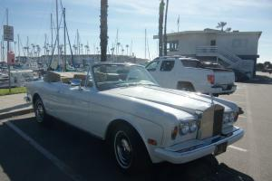 1983 Rolls Royce Corniche Photo