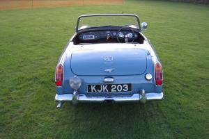 1962 MG MIDGET. ICE BLUE. ONLY 20,000 MILES