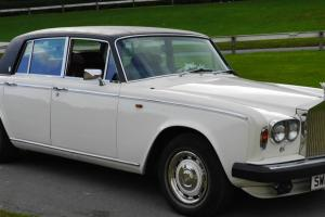 1978 low mileage white Rolls Royce Silver Shadow II