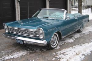 VERY BEAUTIFULL FORD GALAXY 500 - 1965 - CONVERTIBLE
