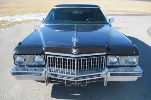 1973 Cadillac Fleetwood 75 Limousine 4-Door 7.7L