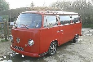 VW camper bay window