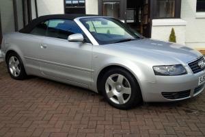 2002(52) AUDI A4 2.4 V6 SE CABRIOLET * CHEAPEST LOW MILEAGE A4 CAB ON EBAY *