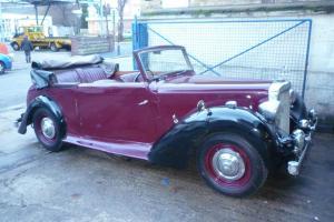 1948 Alvis ta14 dhc maroonblack