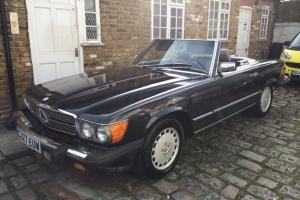 1986 Mercedes 560SL LHD US Import