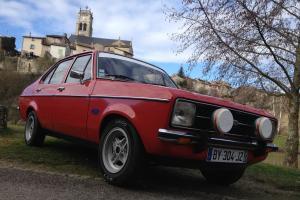 1978 FORD ESCORT MK2 1300GL IN VENETIAN RED