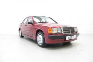 An Outstanding Mercedes 190E 2.5-16v Cosworth with One Owner and 67,385 Miles