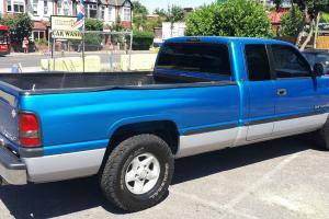 1999 DODGE (USA) RAM 1500 2WD BLUE