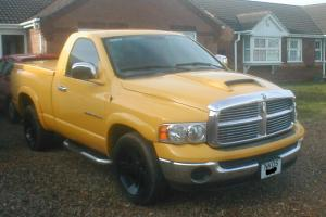 2005 DODGE RAM 1500 2WD YELLOW PX FOR MOTORHOME