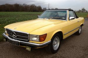 1979 MERCEDES 450 SL AUTO YELLOW A REAL CLASSIC HEAD TURNER