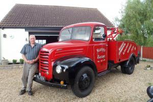fordson thames et6 v8 pilot breakdown lorry harvey frost crane T and T EXEMPT