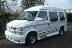 CHEVY ASTRO VAN 1996 WHITE LATER SHAPE,