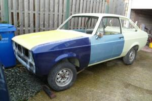1980 Escort Mk2 1600 Sport rolling shell, RHD, very solid, ideal RS rally car