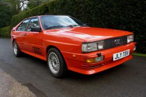 Gene Hunts Actual Audi Quattro From BBC's Ashes to Ashes Series - 100% Genuine!